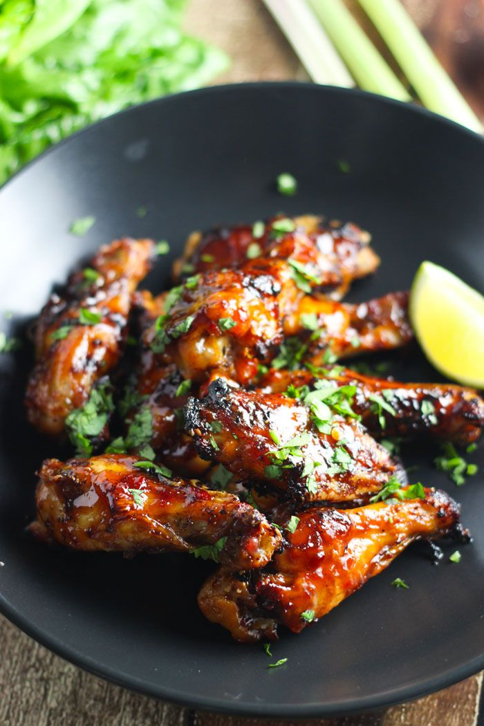 Vietnamese chicken wings are baked in the oven until crispy and tossed in a sweet-spicy combination of soy sauce, chili paste and Worcestershire sauce.