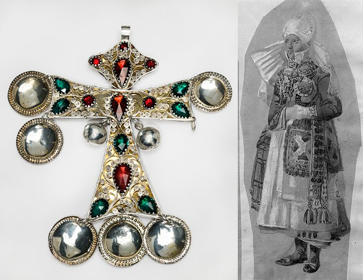 In Skåne, a region in the south of Sweden, trade with northern German cities flourished during the 16th and 17th centuries. Both the middle classes and peasants could afford jewellery, made by Swedish...