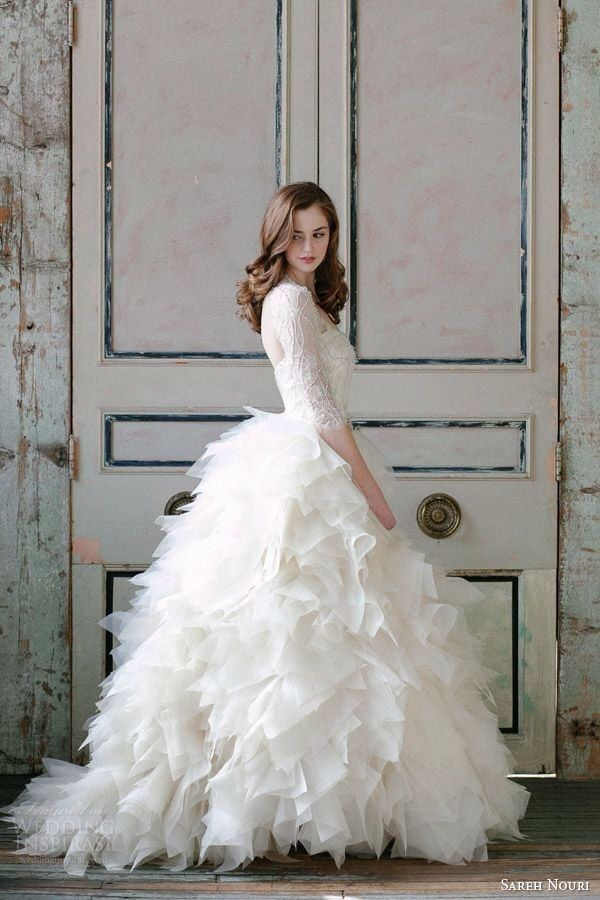 Stunning Winter Wedding Dresses : Winter weddings