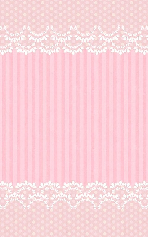 Sweet lacy pink phone wallpaper
