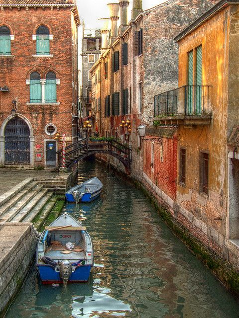 Lovely shot of Venice