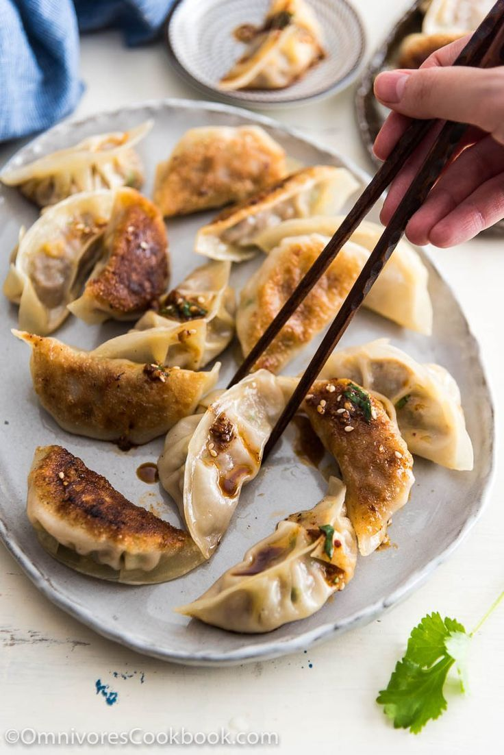 Beef dumplings are an easy dim sum option for a weekday appetizer. You can make them ahead and freeze them for later too.