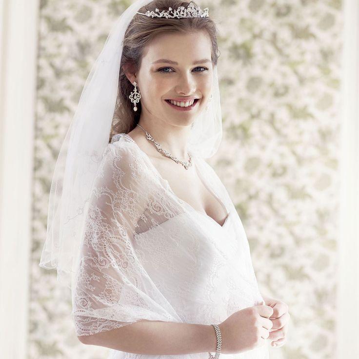 etole mariage dentelle flavia instant prcieux - Etole Mariage Ivoire