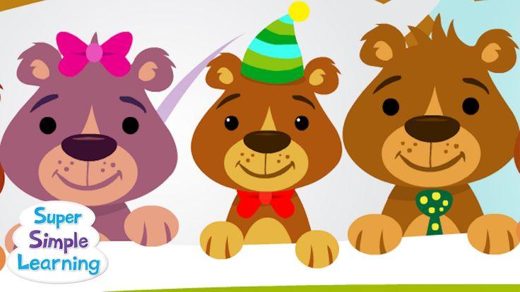 10 beren in bed (aftelliedje).