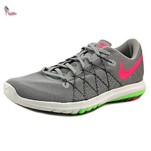 Nike Wmns Flex Fury 2, Chaussures de Running Entrainement Femme, Gris-Gris (