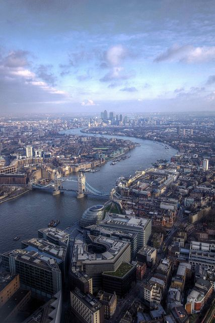 LONDON    view from shard, london by mariusz kluzniak, via Flickr