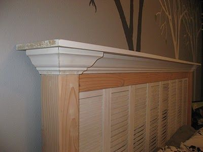 Guest Post: DIY Shutter Headboard by Girl in Air - Renovations - Haven Home - Business Directory