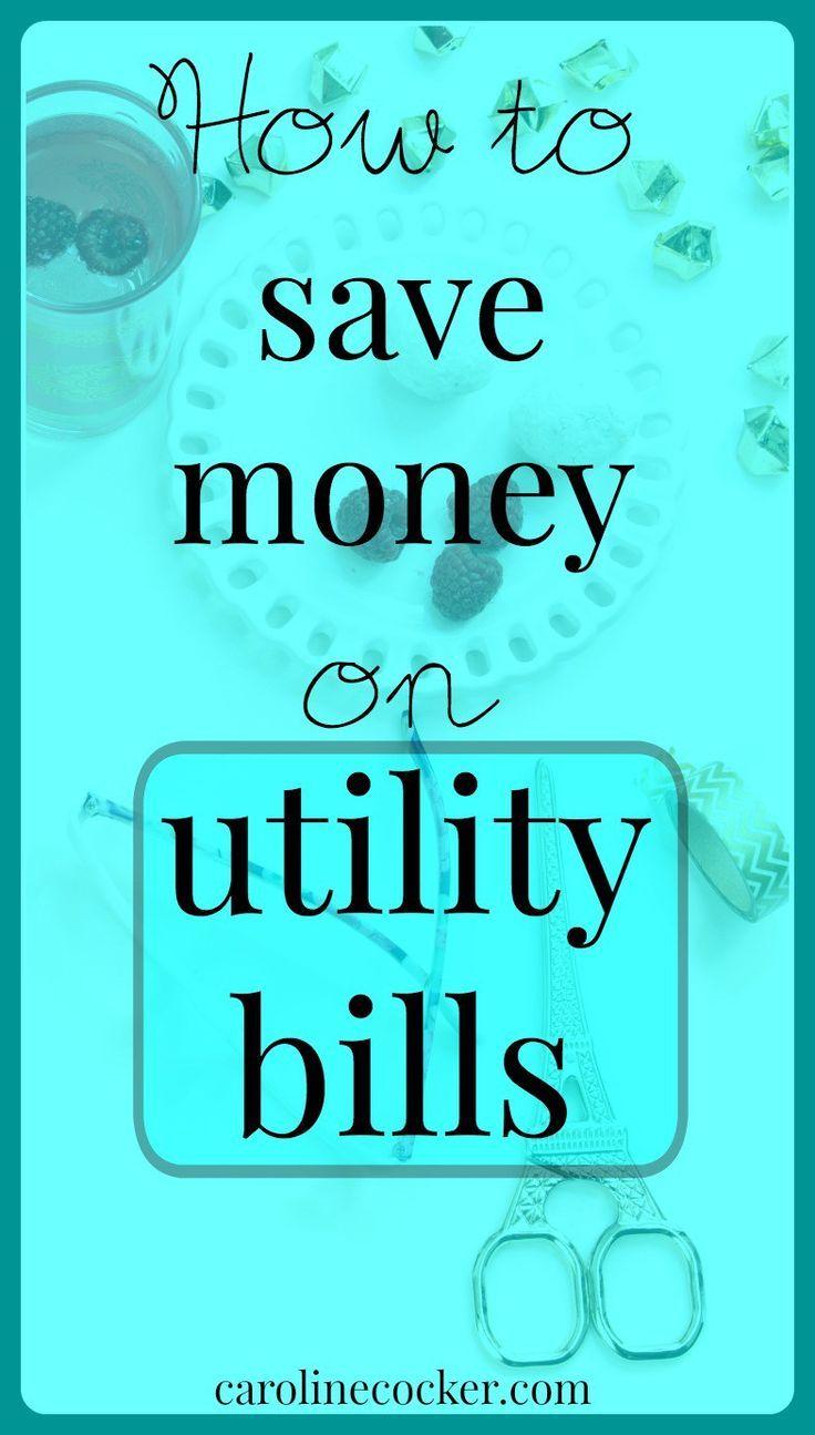 How to save money on utility bills | Caroline Cocker