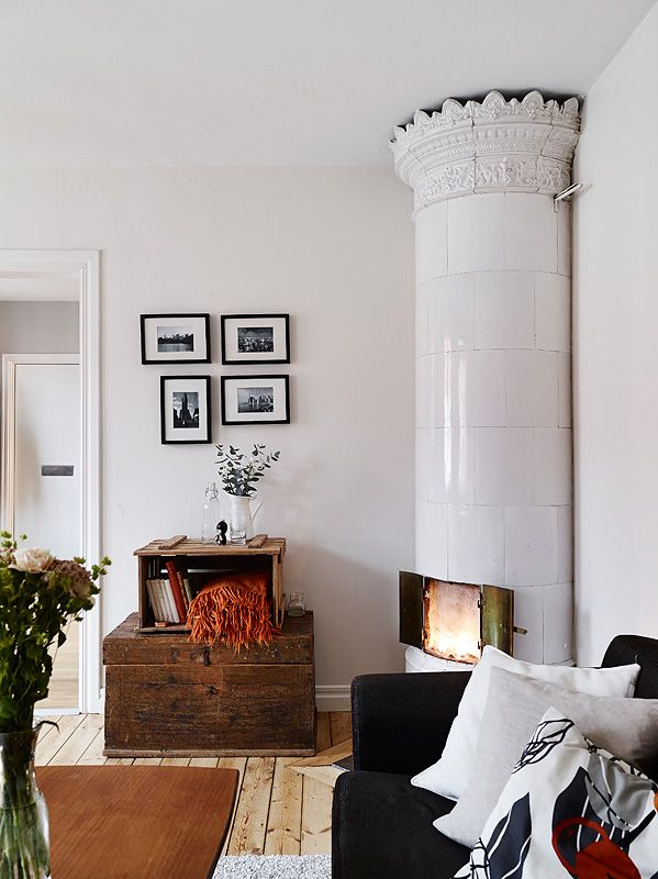 à Göteborg Swedish tile stove