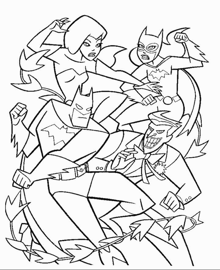 Batman Coloring Pages See More Bat Man 9 720x885
