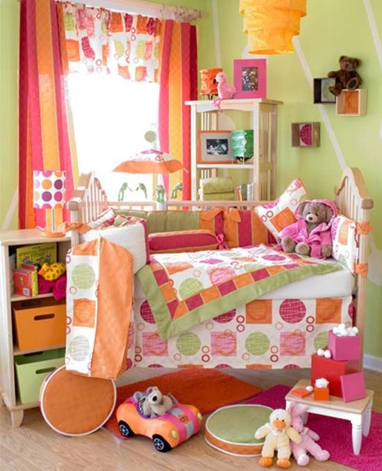 Orange Kids Room: 17 Best Images About Orange And Pink Rooms On Pinterest