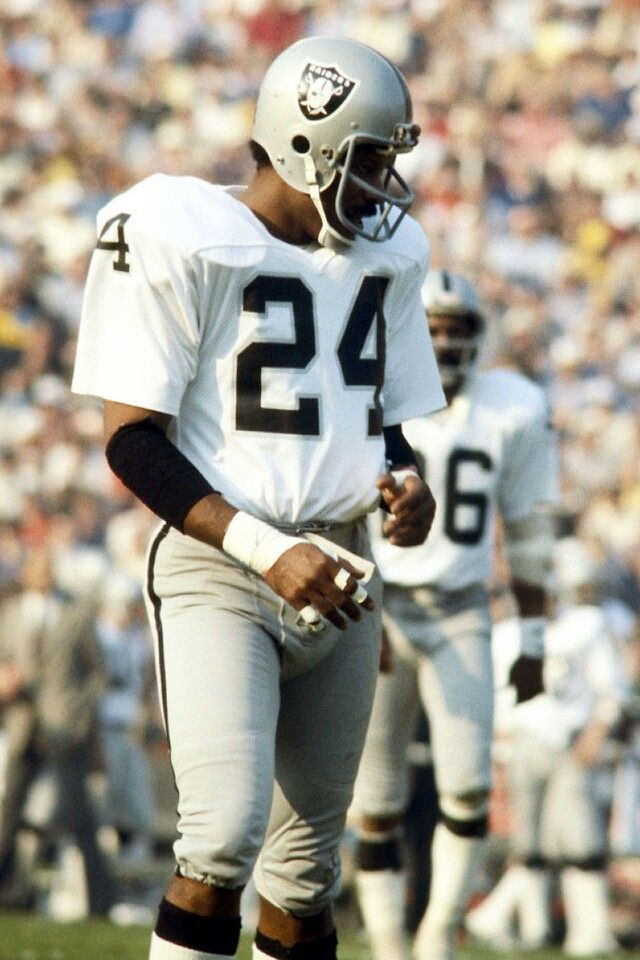 Oakland Raiders Hall of Famer Willie Brown.