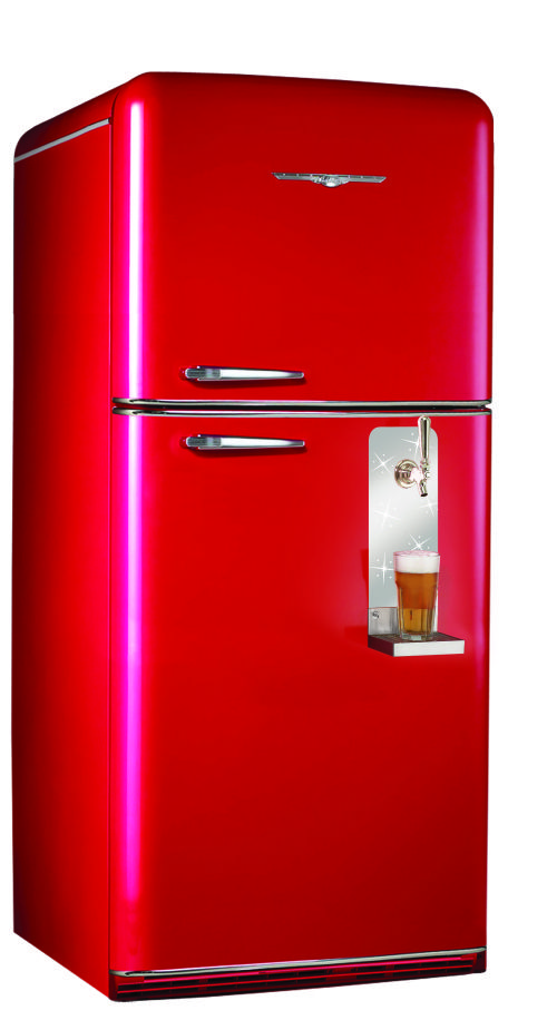 Man Cave Refrigerator : Retro is back caves beer dispensers and man cave fridges