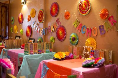Room decoration idea for birthday party.