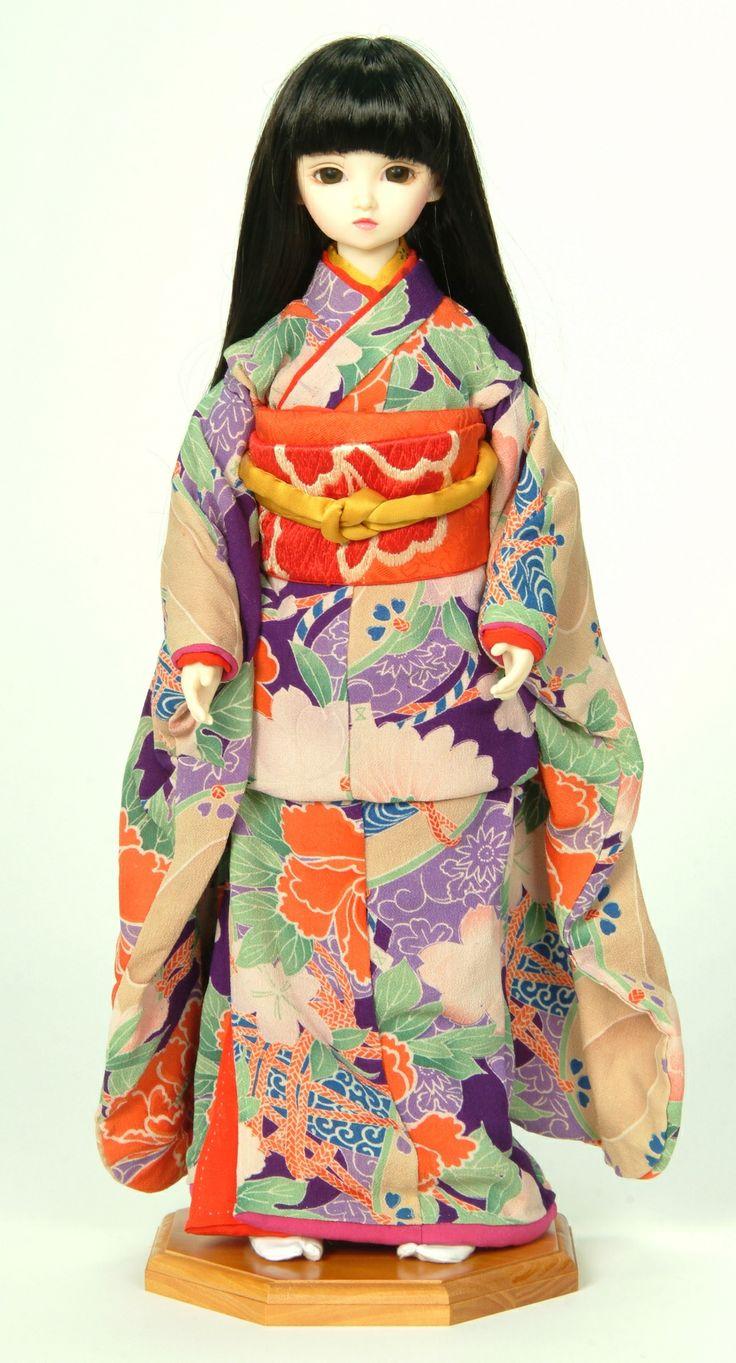 Volks Super Dollfie Ichimatsu Japanese Geisha Doll | eBay