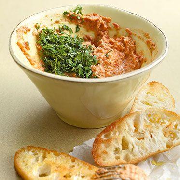 Sommergemüse-Dip mit Parmesan