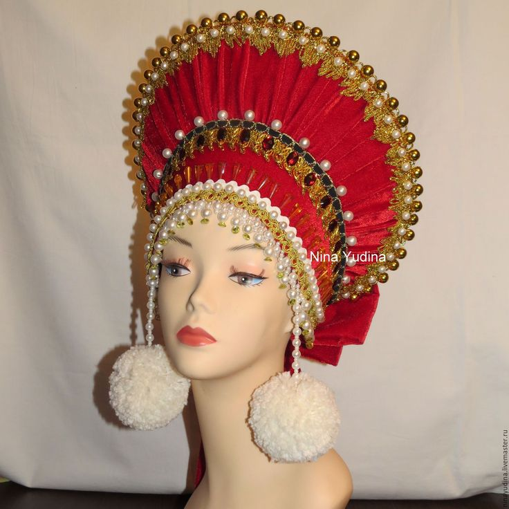 Купить Сборник. Головной убор - кокошник, народный костюм, головной убор, народная традиция