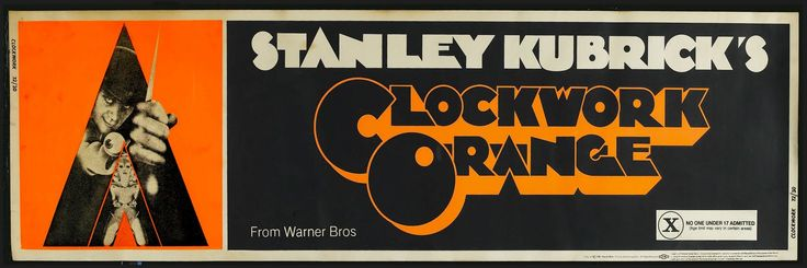 MOVIE POSTERS: A CLOCKWORK ORANGE (1971)