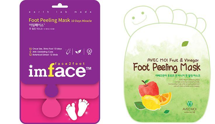 Пилинг для ног от IMFACE и AVEC MOI. Обновляют кожу стопы, делают ее мягкой и ухоженной. В Подружке оба варианта по 239 руб без учета скидок. Вариант справа (зеленый) взяла по скидке в 20% за 191 руб