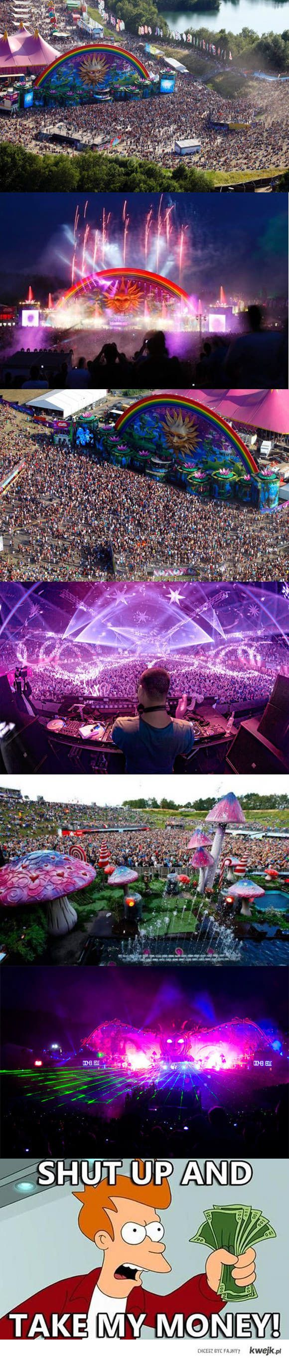 Tomorrowland, biggest music festival in the world. Hopefully before I'm 28 :)
