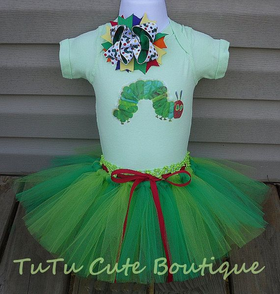 Hungry Caterpillar tutu set by tutucuteboutique22 on Etsy