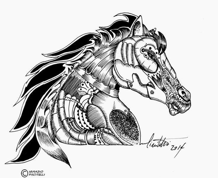 millevignette di ignazio piscitelli: The horse