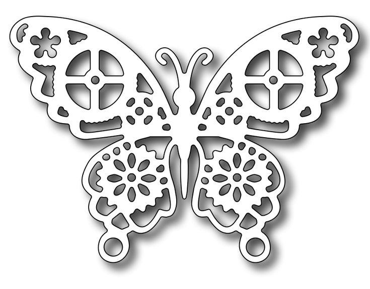 Frantic Stamper - Precision Dies - Geared Butterfly