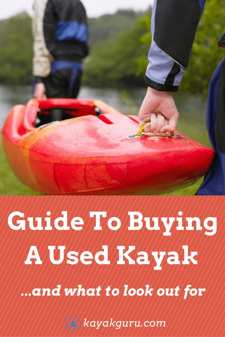 Guide To Buying A Used Kayak - All you need to know for buying second hand fishing kayaks, inflatables, SOTs, tandems, and recreational yaks. We also advise on the best places to buy one! #FishingTips