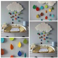 keçe çocuk odası süsleri yapılışı, keçe çocuk odası dekorasyonu, çocuk odası dekorasyonu nasıl yapılır,