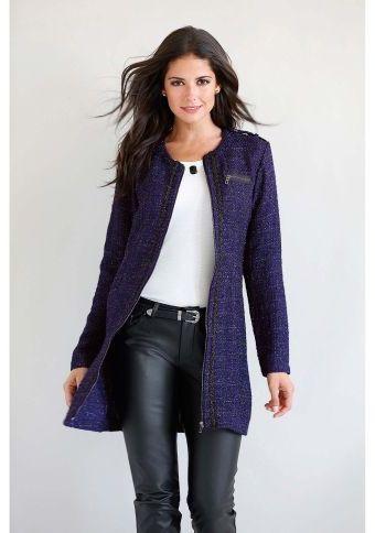 Dlouhý kardigan se zipy #ModinoCZ #fall #autumn #fashion #colours #autumncolours #trendy #stylish #podzimnimoda #moda #styl