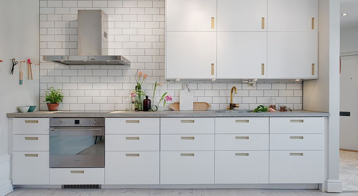 Pickyliving - Ikea Kitchen with Picky Living Hardware