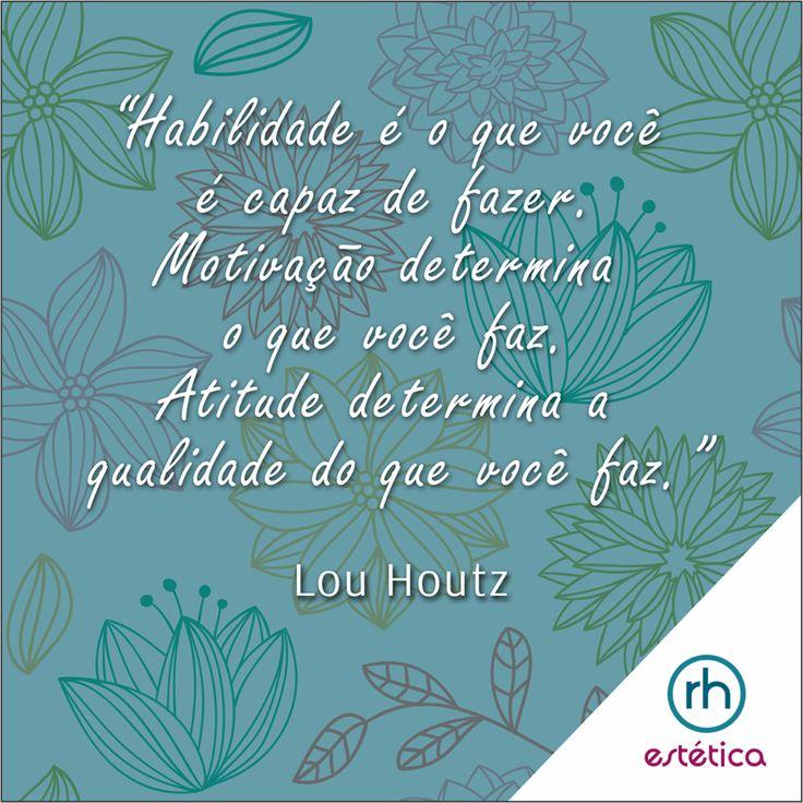 Por uma semana cheia de motivações e novas atitudes.   #RHEstetica #ProfissionalDaBeleza #Estetica #Beleza #Seleção #Recrutamento #QualificaçãoProfissional  www.rhestetica.com