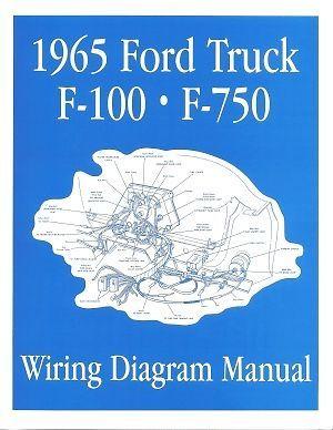 06e1286c78e6046b745f6c8978e80137 manual trucks ford 1965 f100 f750 truck wiring diagram manual 65 ford,Wiring Diagram For 1965 Ford F100