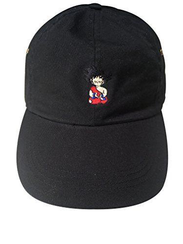 Goku Hats Goku Meditating Embroidered Adjustable Strapback Dad Hat Baseball Cap  Dragonball Z (Black) 088a4419cb6