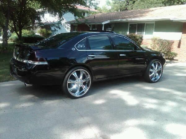 Impala On 24S | 2006 Impala on 24s http://www.cardomain.com/ride/2503379/2006 ...