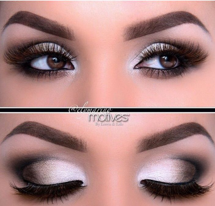 Mount And Blade Prom Makeup For Black And White Dress