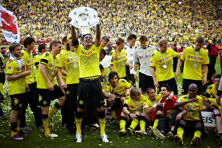 Borussia Dortmund Bundesliga Champions 2012