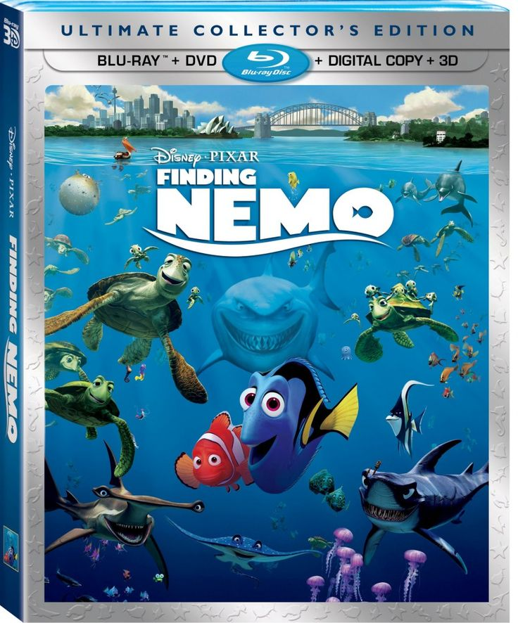 Holiday Guide-Finding Nemo Blu-Ray - The Mom Maven