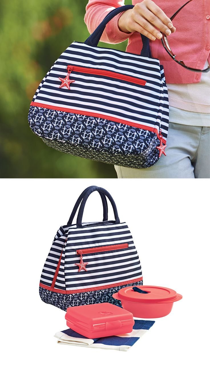 Hamptons Lunch Set. You don't have to summer in the Hamptons to enjoy a relaxed, coastal vibe. Brandyaiken.my.tupperware.com
