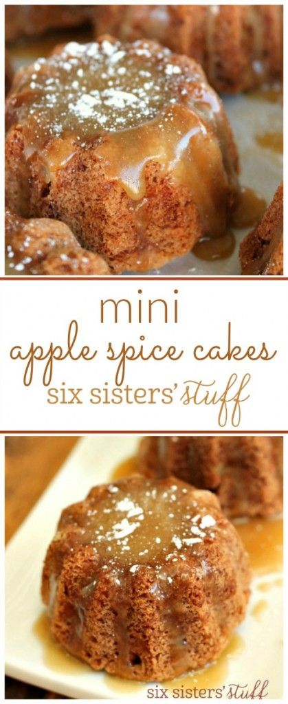 Mini Apple Spice Cakes 3