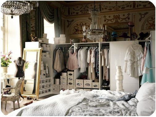 A girls dream closet