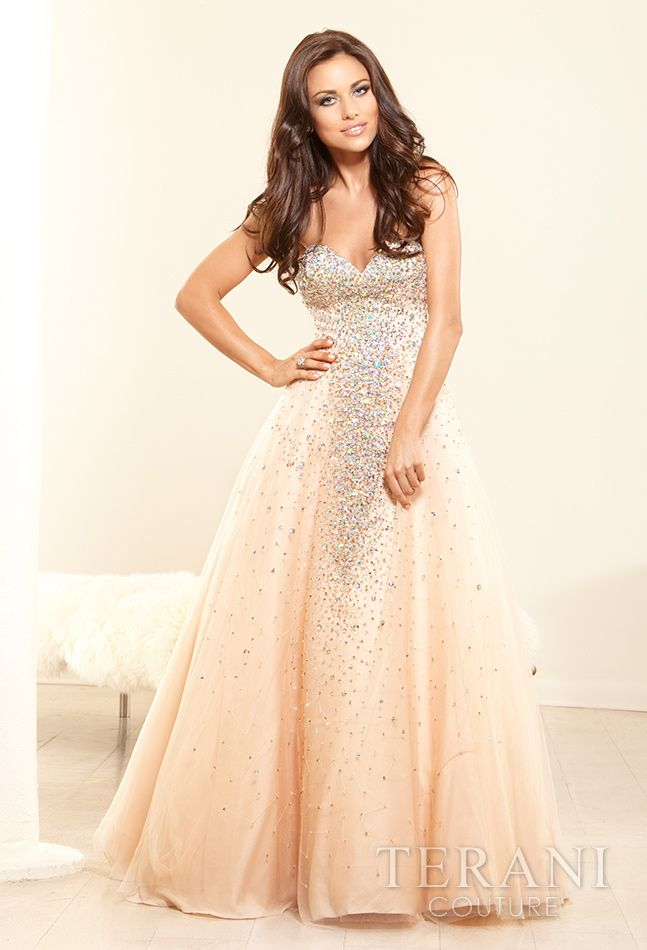 #ballgown Terani Couture - Evening Dresses, 2014 Prom Dresses, Homecoming Dresses, Mother of the Bride