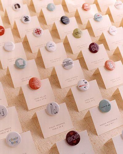 wedding pinback button favors