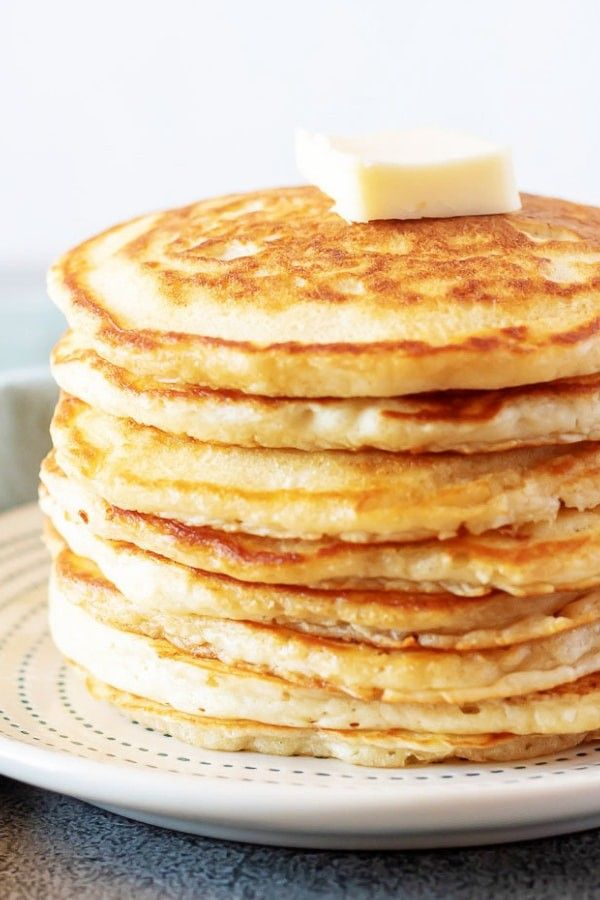 Fluffy American Pancakes Recipe Savoury Cake American Pancakes Pancake Recipe Easy