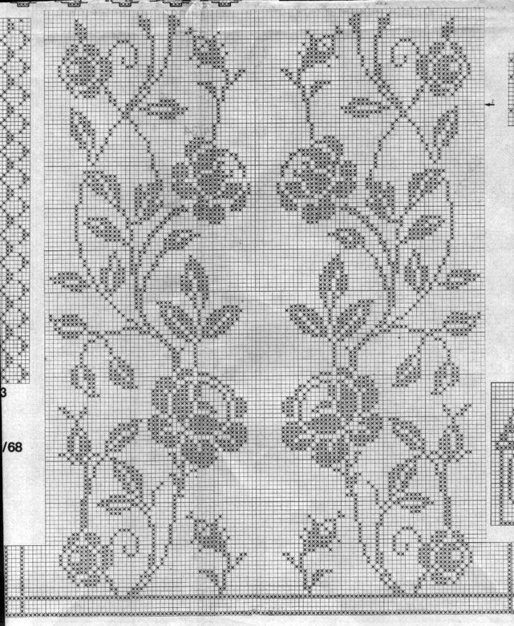 *prelepi motiv,može se koristiti za izradu stolnjaka, tabletića, prekrivača, zavesa...*