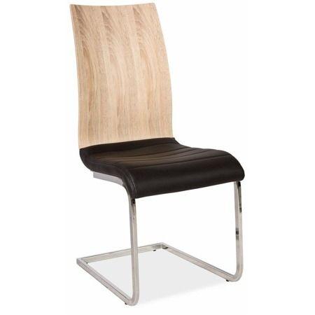 Jídelní židle H-791 černá/sonoma