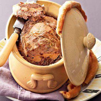 Terrine de chevreuil au foie gras - Cuisineetvinsdefrance.com !
