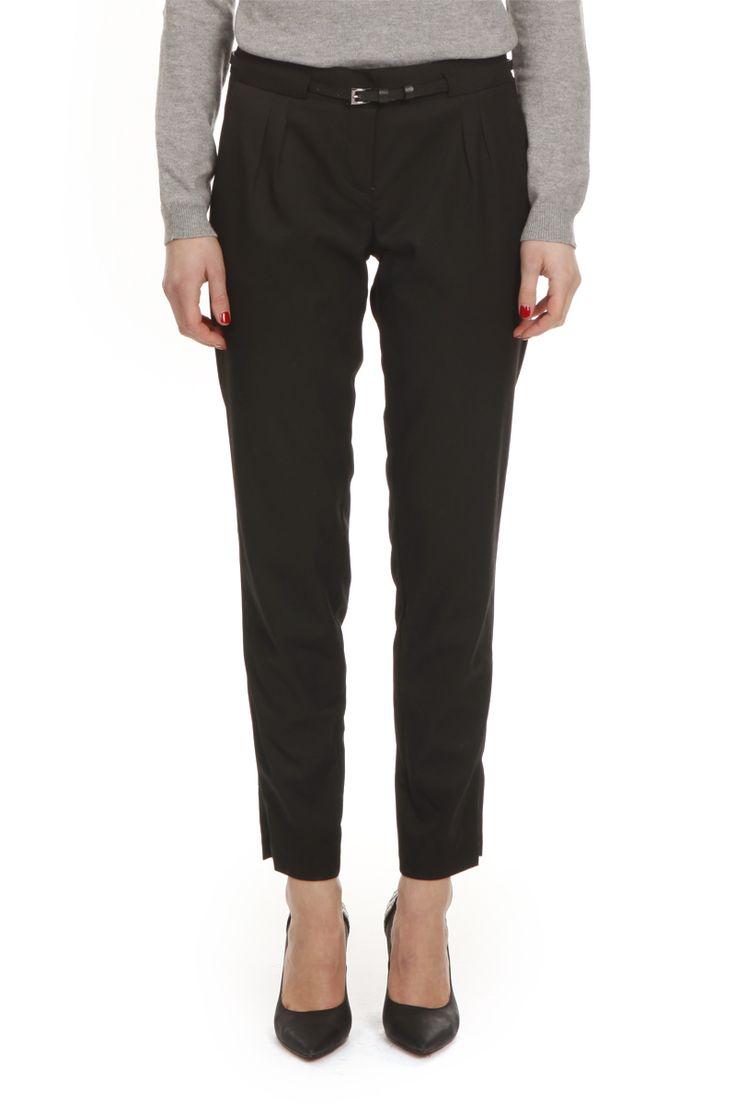 Pantalon ceinture  #pantalon #trousers #black #mode