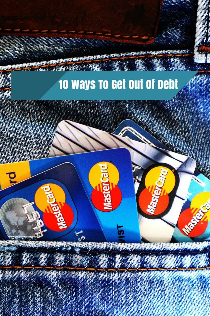 Getting sucked into debt is oh so easy, and getting out is pretty darn tough! Here are 10 practical things you can do to get out of debt faster and easier!   #DebtTrap #GetDebtFree #Debt #WaysToGetOutOfDebt