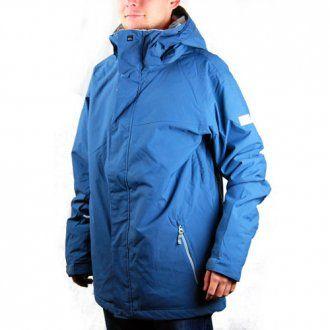 Quiksilver Mission Ski Jacket Petrol Blue